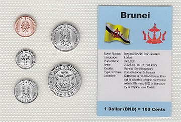 Brunei - set of 5