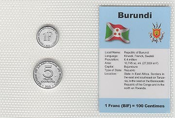 Burundi - set of 2
