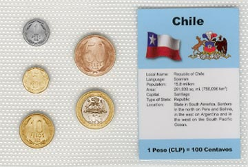 Chile - set of 5