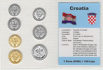 Croatia - set of 7