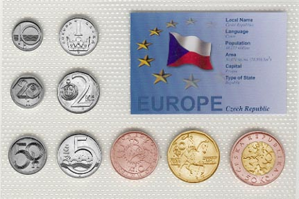 Czech Republic - EU set of 9
