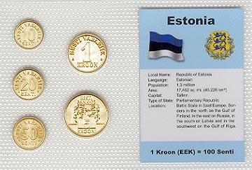 Estonia - set of 5