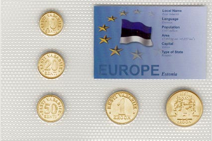 Estonia - EU set of 5