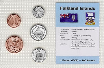 Falkland Islands - set of 5