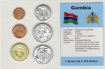 Gambia - set of 6