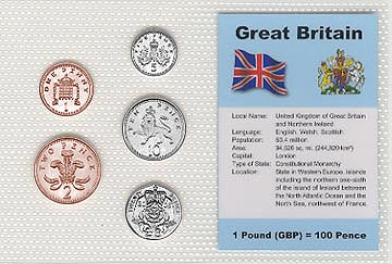 Great Britain - set of 5