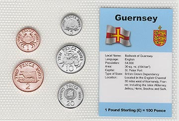 Guernsey - set of 5