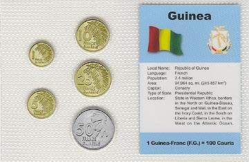 Guinea - set of 5