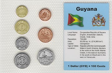 Guyana - set of 7