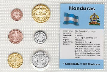 Honduras - set of 6