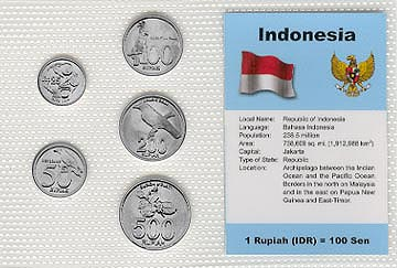 Indonesia - set of 5