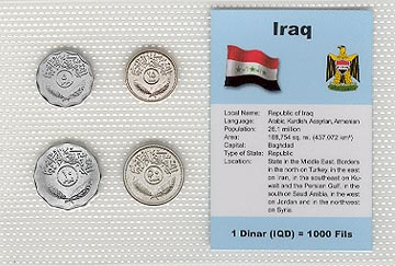 Iraq - set of 4