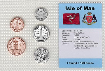 Isle of Man - set of 5