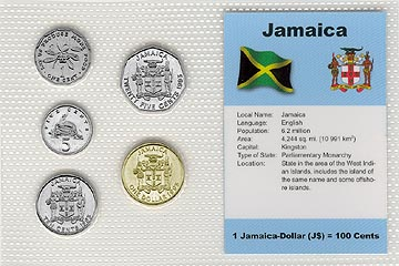 Jamaica - set of 5