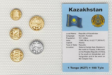 Kazakhstan - set of 5