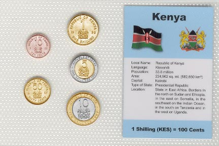 Kenya - set of 5