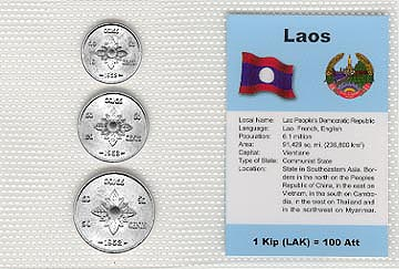 Laos - set of 3