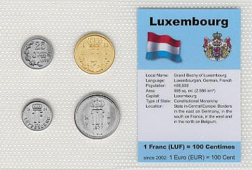 Luxembourg - set of 4