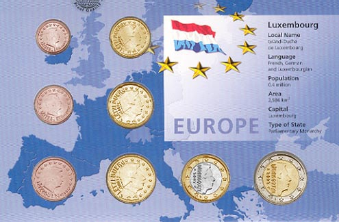 Luxembourg - Euro set of 8