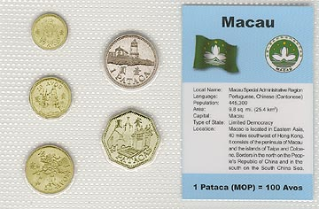 Macao - set of 5