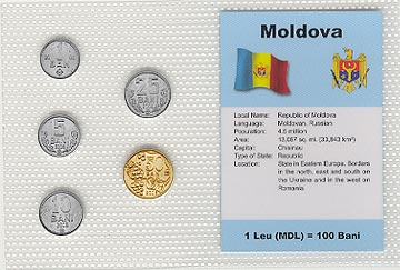 Moldova - set of 5