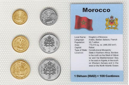 Morocco - set of 6