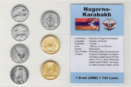 Nagorno Karabakh - set of 7