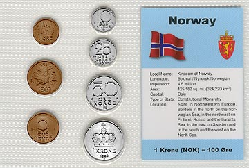 Norway - set of 7 MAIN