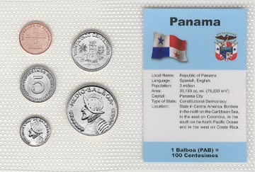 Panama - set of 5