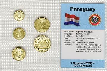 Paraguay - set of 5