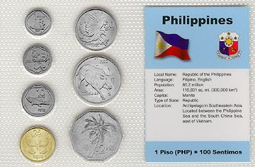Philippines - set of 7