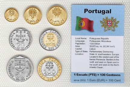 Portugal - set of 7