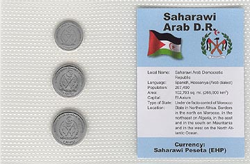 Saharawi Arab D. R. - set of 3