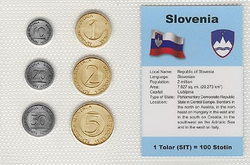 Slovenia - set of 6 MAIN