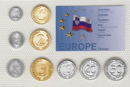 Slovenia - EU set of 9
