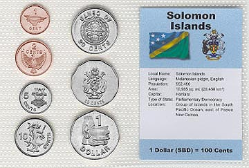 Solomon Islands - set of 7
