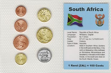 South Africa - set of 7