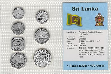 Sri Lanka - set of 7