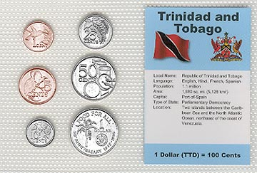 Trinidad & Tobago - set of 6