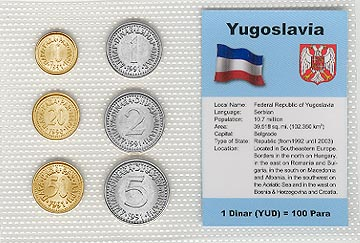 Yugoslavia - set of 6