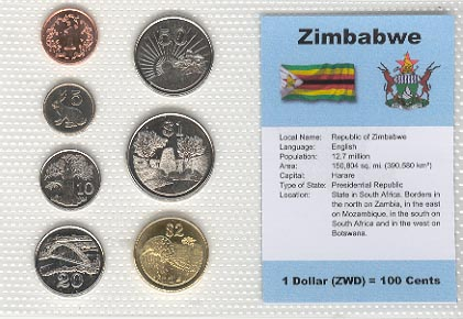 Zimbabwe - set of 7