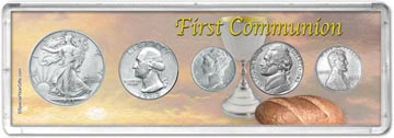 1943 First Communion Coin Gift Set THUMBNAIL