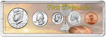 1995 First Communion Coin Gift Set THUMBNAIL