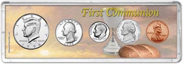 1996 First Communion Coin Gift Set THUMBNAIL