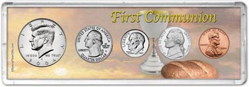 2004 First Communion Coin Gift Set THUMBNAIL