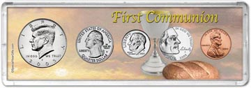 2005 First Communion Coin Gift Set THUMBNAIL