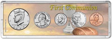 2009 First Communion Coin Gift Set THUMBNAIL