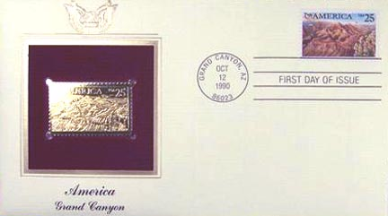 #2512 25¢ Pre-Columbian Customs - Gold-Foil First Day Cover