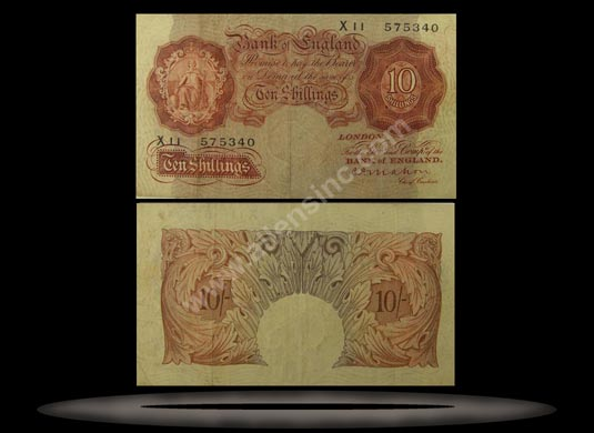 Great Britain Banknote, 10 Shillings, ND (1934-39), P#362c