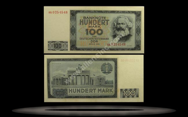 Germany, East Banknote, 100 Mark, 1964, P#26a